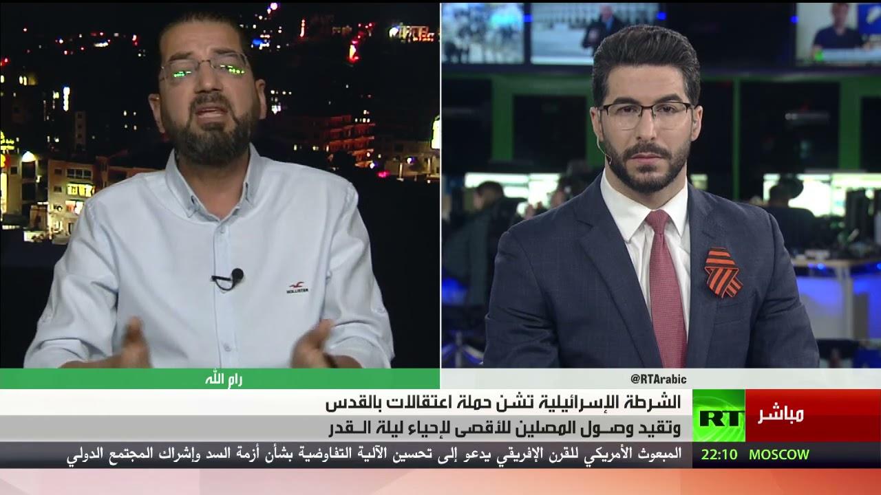 إسرائيل تشن حملة الاعتقالات في القدس وردود الفعل - تعليق رأفت عليان  - 21:58-2021 / 5 / 8