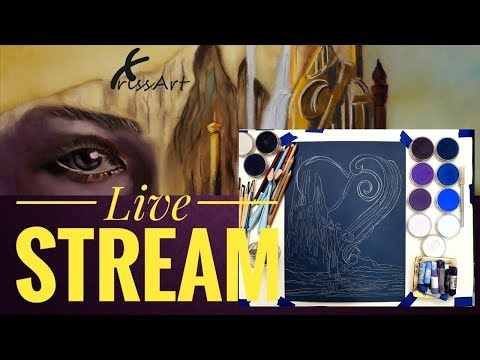 LIVESTREAM -Painting the Ace of Hearts