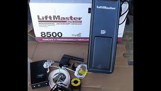 Install Liftmaster 8500 Jackshaft Garage Door Opener