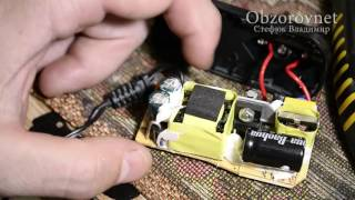 Ресивер Trimax T2 индикатор секунд сайын жанып өшеді, ремонт блока питания