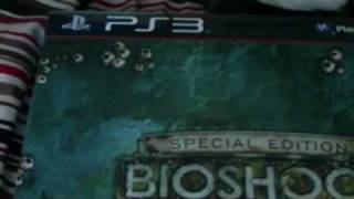 Bioshock 2 Special Edition Unboxing PS3