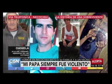 C5N - Masacre en Necochea: habla la hija del asesino