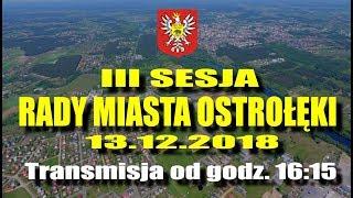 III sesja Rady Miasta Ostrołęki