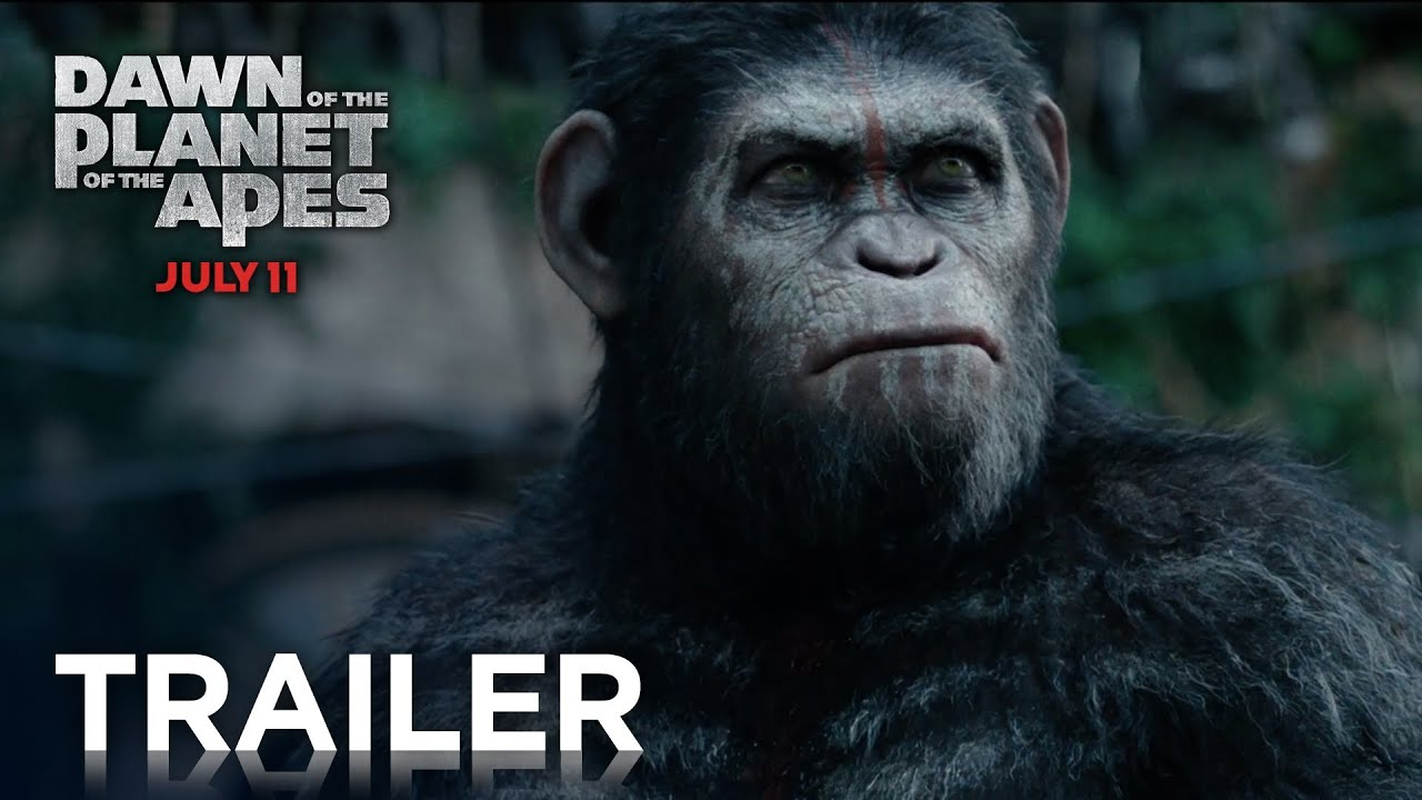 Dawn Of The Planet Of The Apes Official Final Trailer Hd Planet Of The Apes Youtube