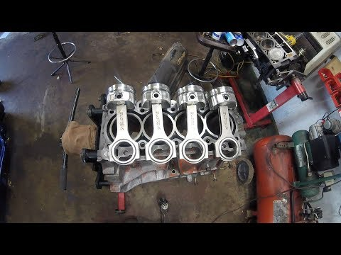 Building A Fast And Reliable Turbo Honda : Bottom End Assembly GSR B18C1