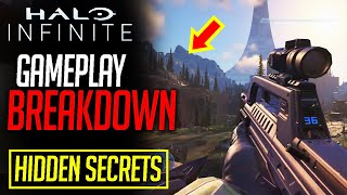 Halo Infinite GAMEPLAY SECRETS + COMPLETE BREAKDOWN (hidden map locations, story teases, and MORE)