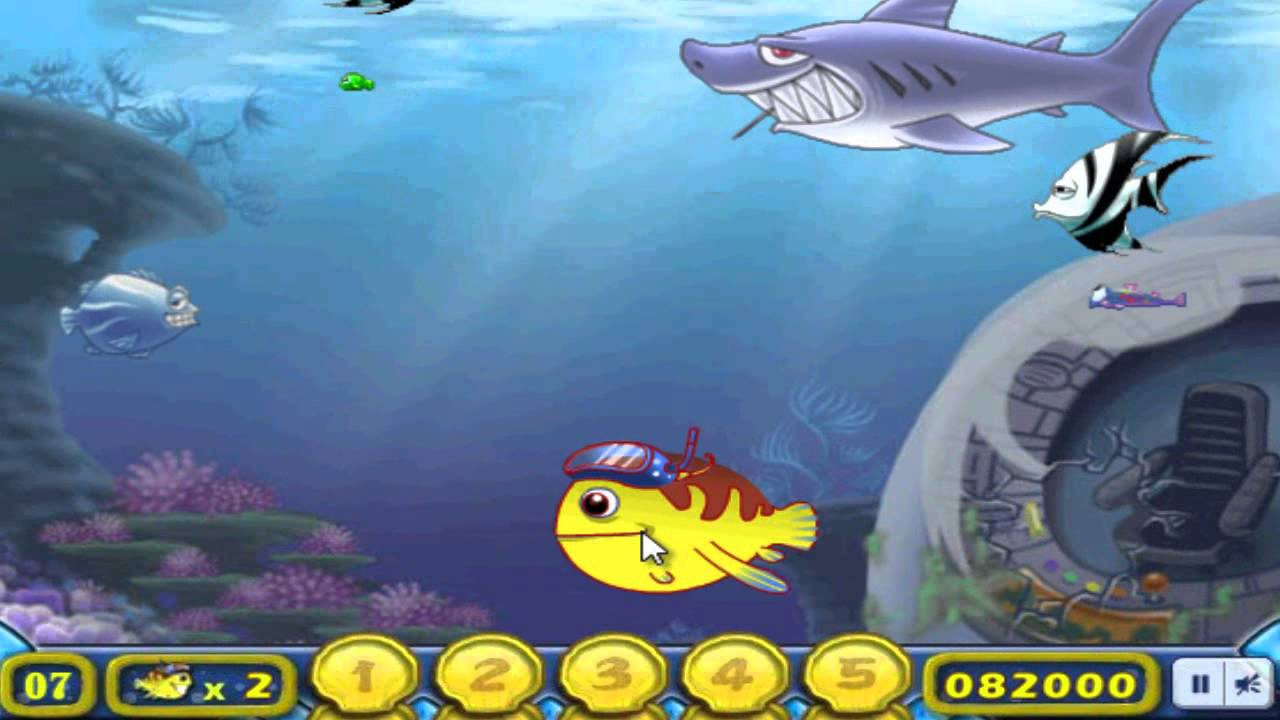 H ng d n ch i game c l n nu t c b growing fish tr n for Grow fish game