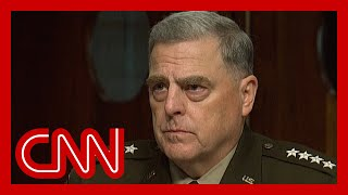Gen. Milley details his phone calls with Chinese counterpart