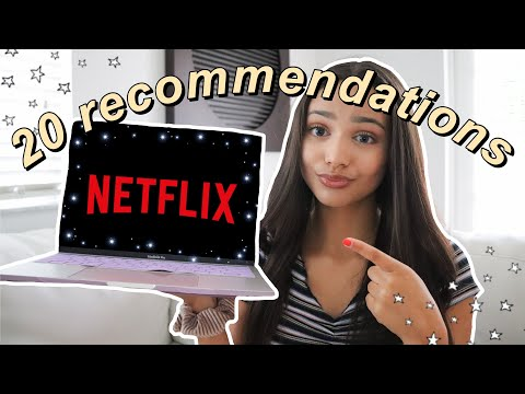 my TOP 20 NETFLIX RECOMMENDATIONS (aka the best shows to BIN
