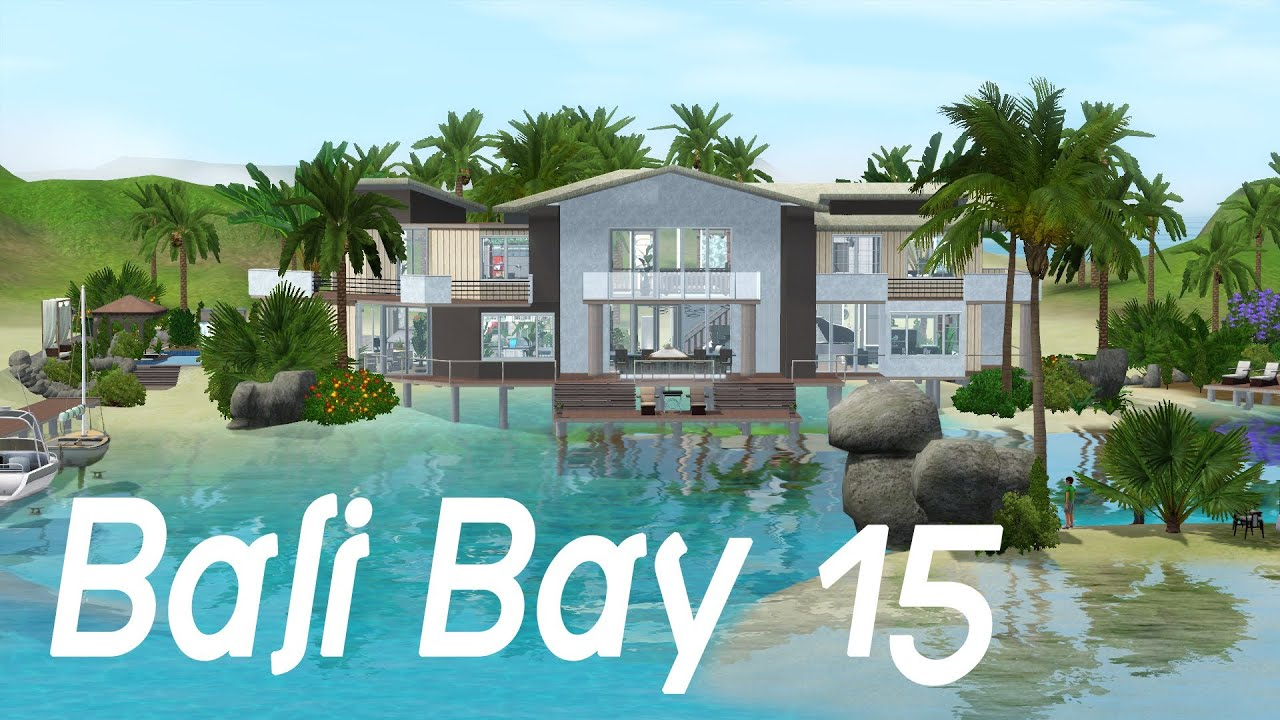 House of speed green bay - The Sims 3 House Building Bali Bay 15 Speed Build
