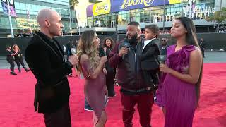DJ Khaled and Lilly Singh Interview - AMAs Red Carpet 2017