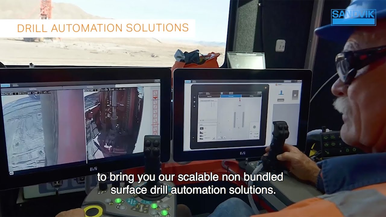 Sandvik DR412i Product Video - Russian  | Sandvik Mining and Rock Technology