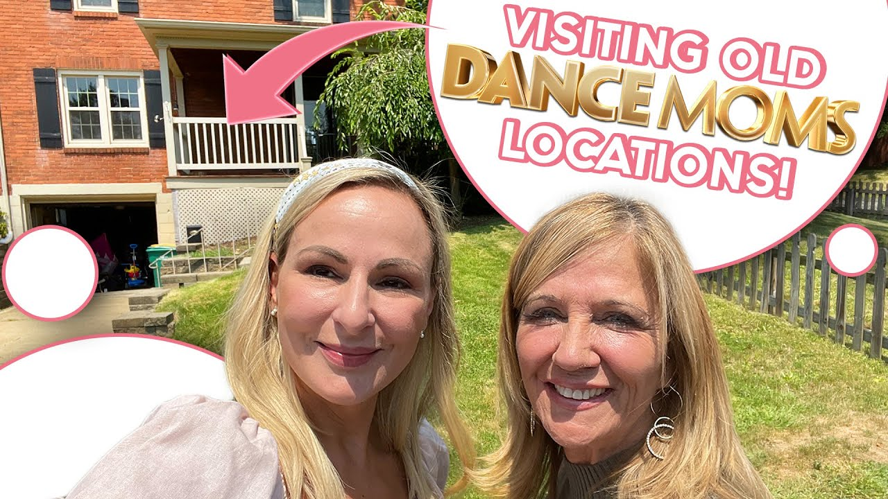 Dance Moms Tour! Our Old Houses & More - Visiting old Dance Moms Locations - Christi Lukasiak