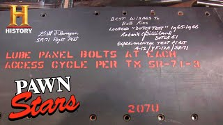 Pawn Stars: HIGH-STAKES Spy Plane Panel Causes MAJOR Conflict (Season 6) | History