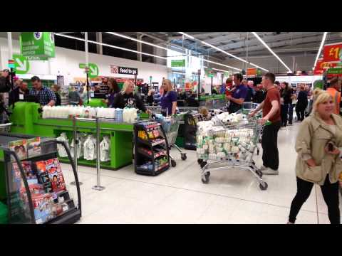Farmers Raid Supermarket - Take Back All Their Milk, ASDA Ayr