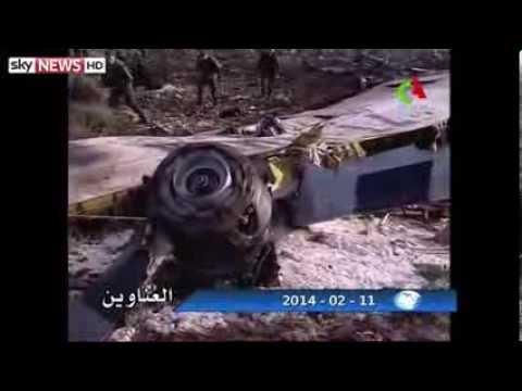 Algeria Plane Crash One Survivor As 102 Killed (Raw Video)