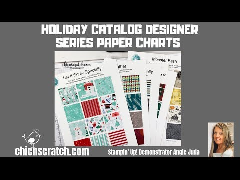 Repeat Designer Series Paper Charts Holiday Catalog 2019 by