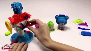 Игровой набор Play-Doh - B1155 - Набор для творчества Сумасшедшие прически(Игровой набор Play-Doh с бесплатной доставкой по России доступен по ссылке http://www.toy.ru/catalog/plastilin_play_doh/play_doh_b1155_igrovo..., 2016-02-03T14:02:45.000Z)