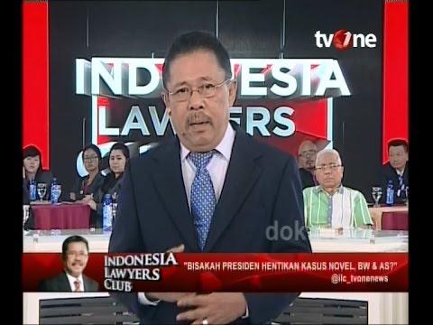 [Full] Indonesia Lawyers Club - Bisakah Presiden Hentikan Kasus Novel, BW & AS? (10/02/2016)