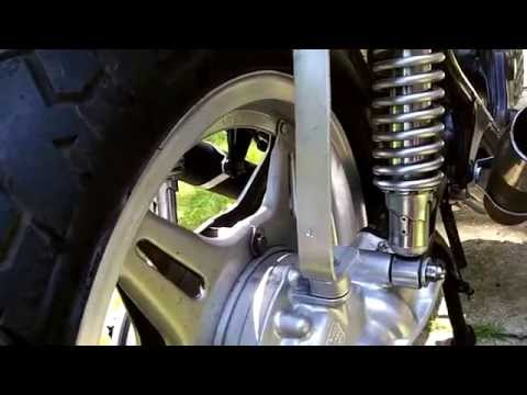 1978 Honda cx500 cafe racer,,budget build completed - YouTube