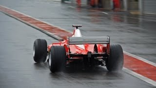 Ferrari F2003-GA Formula 1 - EPIC V10 SOUNDS!!