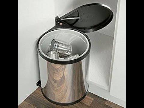 installer la poubelle cuisine sur porte