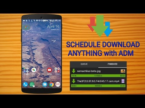 Schedule Download Anything With ADM | Best Download Manager For Android