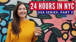 Ultimate 24 Hours in NYC | New York USA Travel | Brits in America Part 3