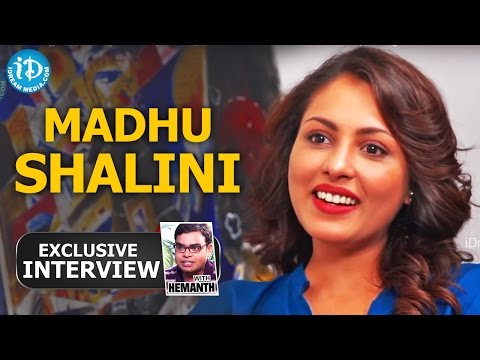 Madhu Shalini Exclusive Interview   Talking  Movies With iDream # 38