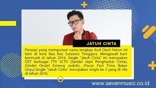 """Davit Harun - Jatuh Cinta """"OST FTV SCTV"""" (Video Lirik)"""