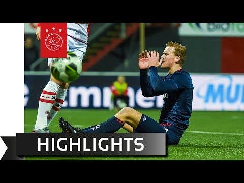 Highlights FC Emmen - Jong Ajax