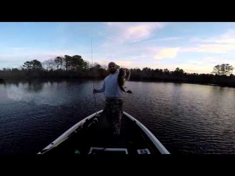 Menantico Sand Ponds(Home Of NJ State Record Largemouth)  Bass Fishing Late Winter/Early Spring