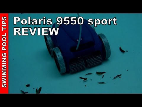 Polaris 9550/955  Robotic Pool Cleaner Review & Field Test