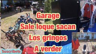 GARAGE 🔴SALE LO QUE SACAN LOS 🔵 GRINGOS HA VENDER