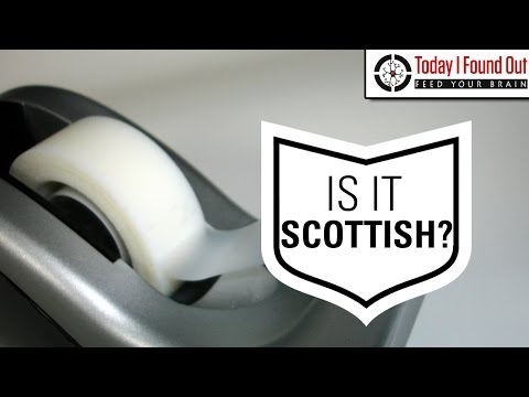 The Invention of Scotch Tape (and Why It's Called That)