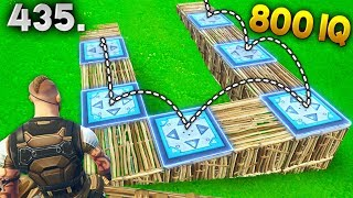 BOUNCE TRAP 800 IQ..!!! Fortnite Daily Best Moments Ep.435 (Fortnite Battle Royale Funny Moments)