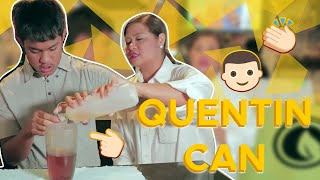 Quentin Barista for a day! | CANDY & QUENTIN | OUR SPECIAL LOVE