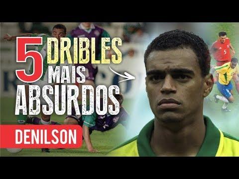 Os 5 DRIBLES Mais ABSURDOS De DENILSON SHOW