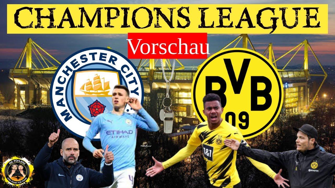 ⭕ Anpfiff - Manchester City vs Borussia Dortmund | Die Champions League - Vorschau zum Rückspiel