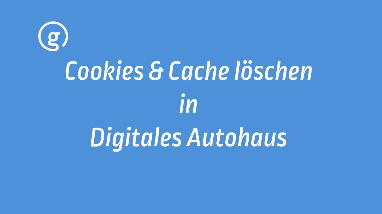 Cache Und Cookies Löschen