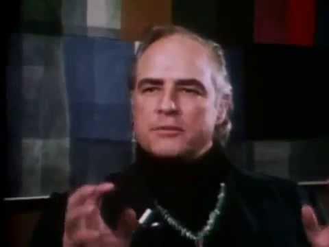 Marlon Brando rare interview 1973
