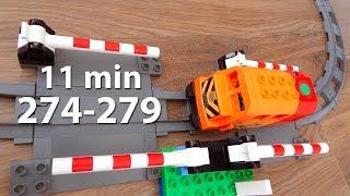 Мультики про машинки все серии 274-279 Город Машинок Мультфильмы для детей видео mirglory