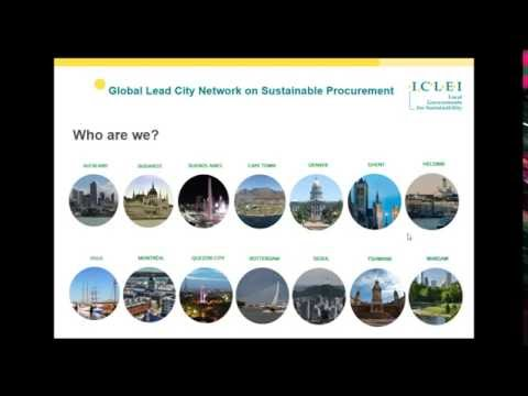 Webinar: 20 years of Sustainable Procurement at ICLEI – Local Governments for Sustainability
