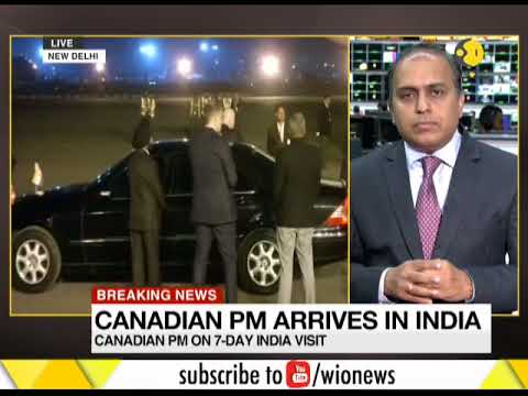 Breaking News: Canadian PM arrives in India; Two nations to focus on defence and counter-terror ties
