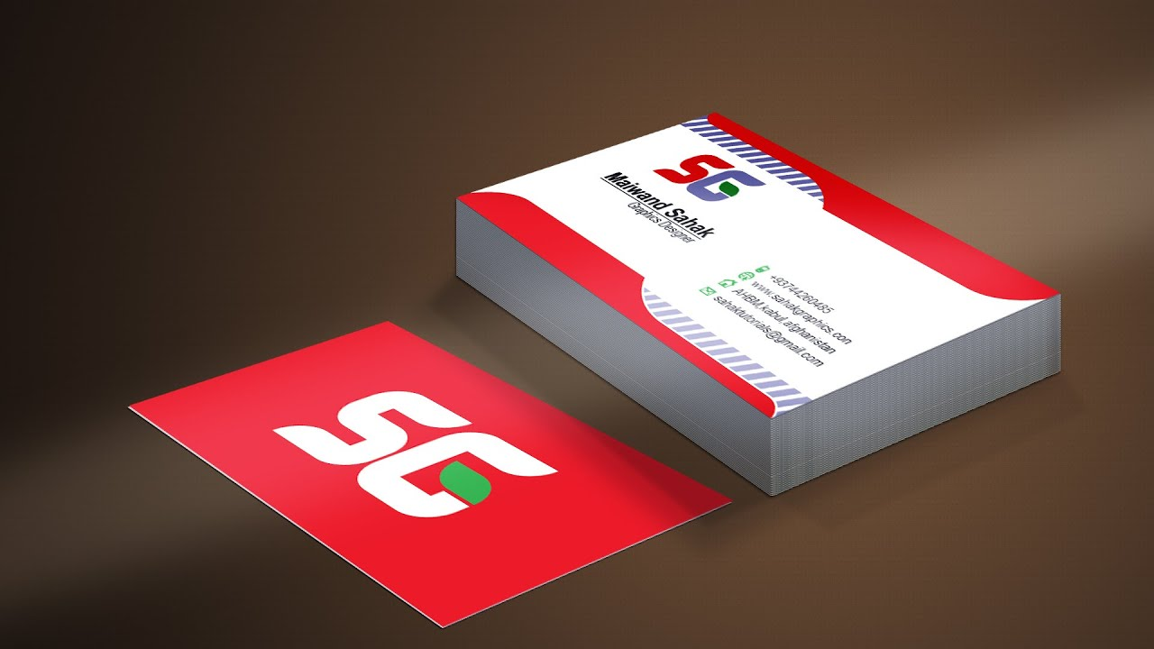 Photoshop tutorial how to create business card mockup hindi photoshop tutorial how to create business card mockup hindi urdu youtube reheart Gallery