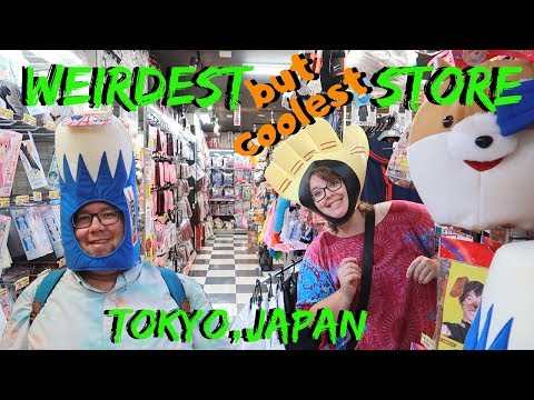 The Weirdest Store in Tokyo | Japan Travel Vlog