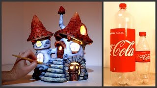 ❣DIY Fairy House Inn Using Coke Plastic Bottles❣