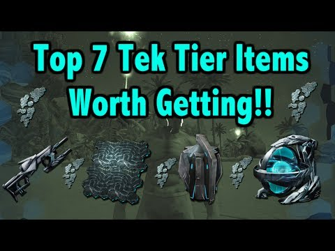Ark Survival Evolved - Top 7 Tek Tier Items!!!