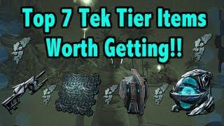 Ark Survival Evolved - Top 7 Tek Tier Items!!!
