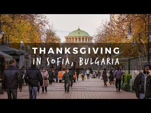 Thanksgiving in Sofia, Bulgaria